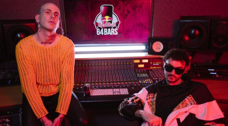 """""""Red Bull 64 Bars, the album"""" beatmaker e un MC alle prese con le 64 barre"""