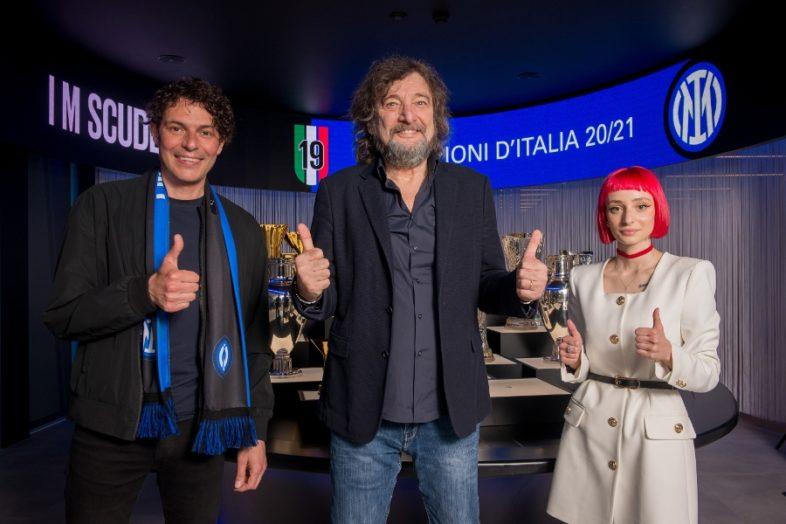 """CECCHETTO e PEZZALI per il nuovo inno dell'Inter """"I M INTER (Yes I M)"""""""