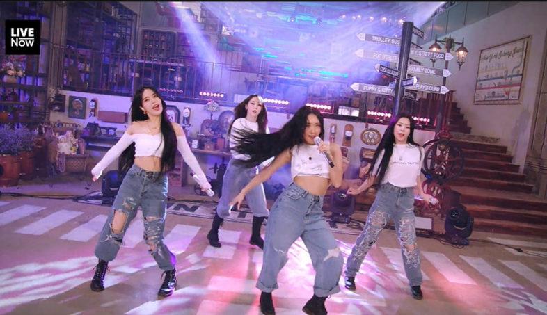 MAMAMOO la gallery dello loro show K-pop su Live Now