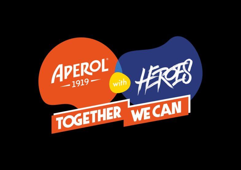 APEROL with HEROES – TOGETHER WE CAN dall'Arena di Verona, live e in steaming su LiveNow. Info e biglietti