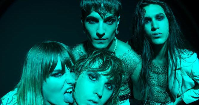 """MÅNESKIN oggi la premiere mondiale del loro video """"I Wanna Be Your Slave"""""""