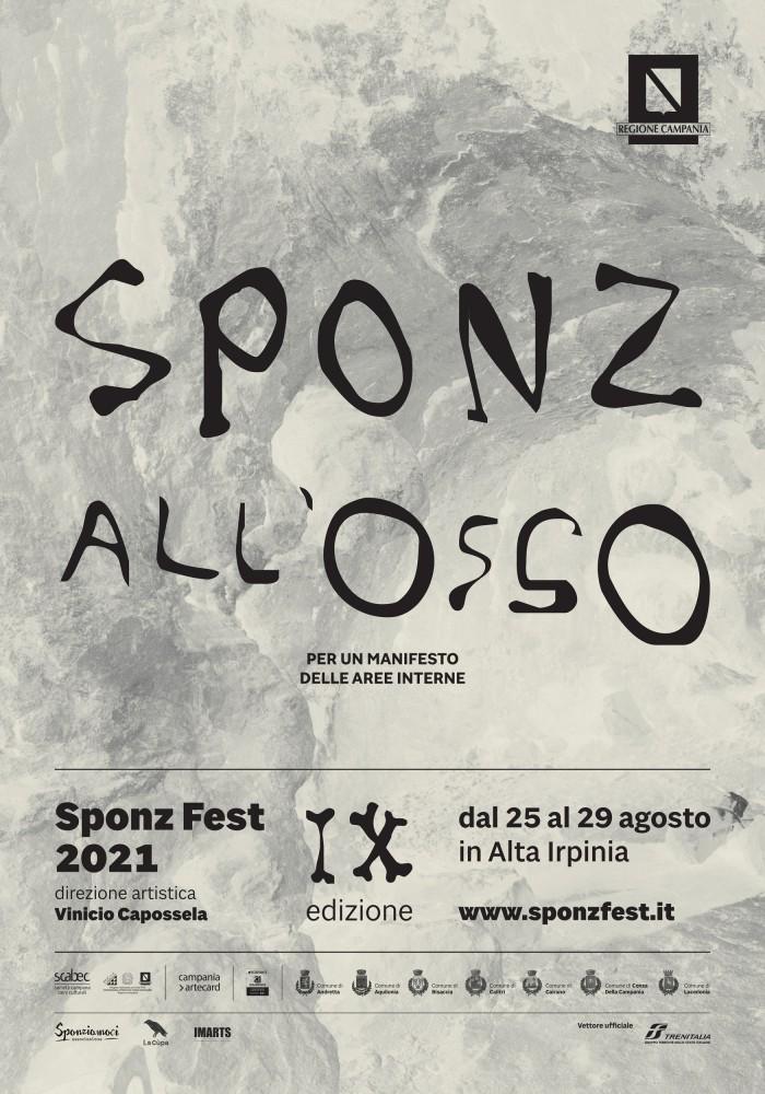 SPONZ ALL'OSSO: il festival di Vinicio Capossela dal 25 agosto in Irpinia. Info e Biglietti