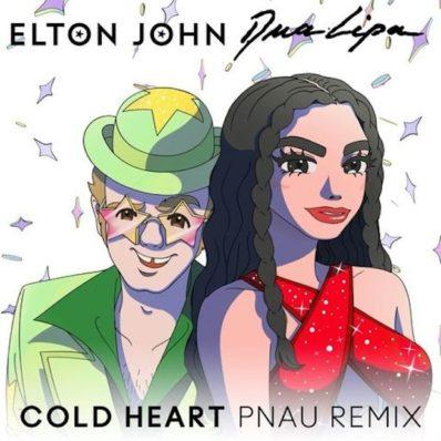 "UK SINGLES: N.ro 1 <br>ELTON JOHN & DUA LIPA – ""Cold Heart"""